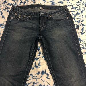 True Religion Size 29 Skinny Jean WOY599STSS